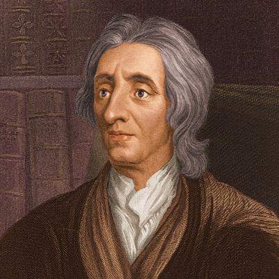 English political philosopher and physician, John Locke (1632-1704)